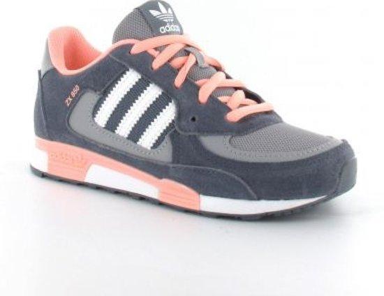 adidas schoenen roze met grijs