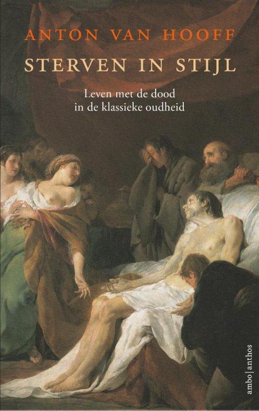 Boek cover Sterven in stijl van Anton van Hooff (Paperback)