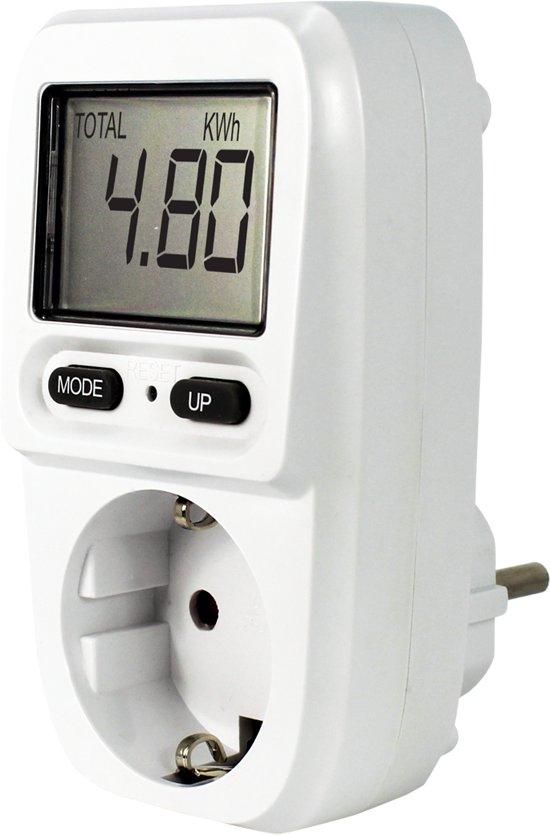 EcoSavers Energie Meter Mini Energiemeter - Energieverbruiksmeter - Electriciteitsmeter Compact