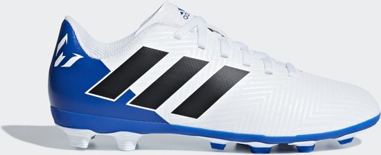 7d5029352c5b adidas Nemeziz Messi 18.4 Fxg J Voetbalschoenen Kinderen - Ftwr White Core  Black Football