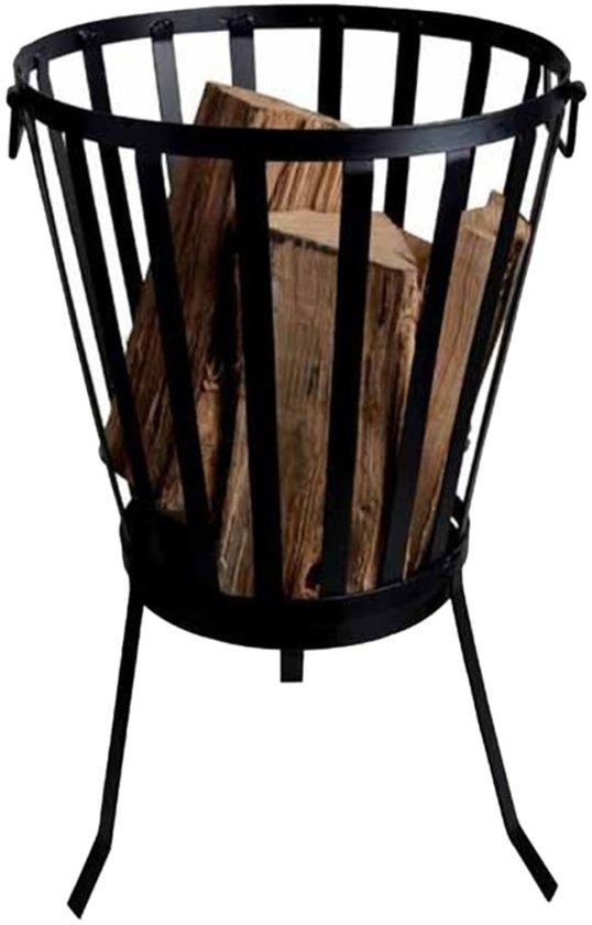 Esschert Design Vuurkorf Ø 35 cm - Zwart