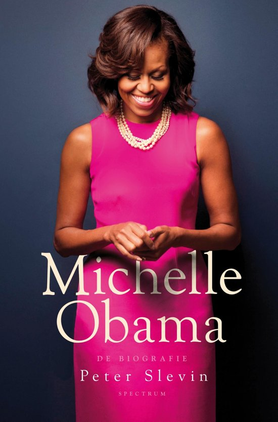 Boek cover Michelle Obama van Peter Slevin (Onbekend)