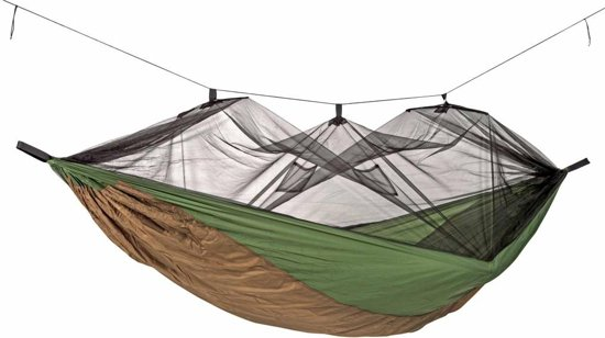Amazonas Moskito-Adventure Thermo hangmat groen/bruin