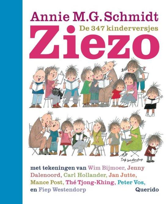 Boek cover Ziezo van Annie M.G. Schmidt (Hardcover)