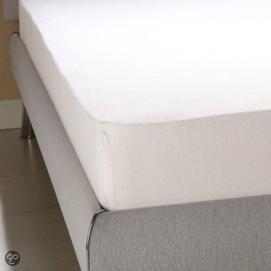 Homéé - Hoeslaken Jersey Stretch Katoenen - Wit - 160/180x200/220 +40cm