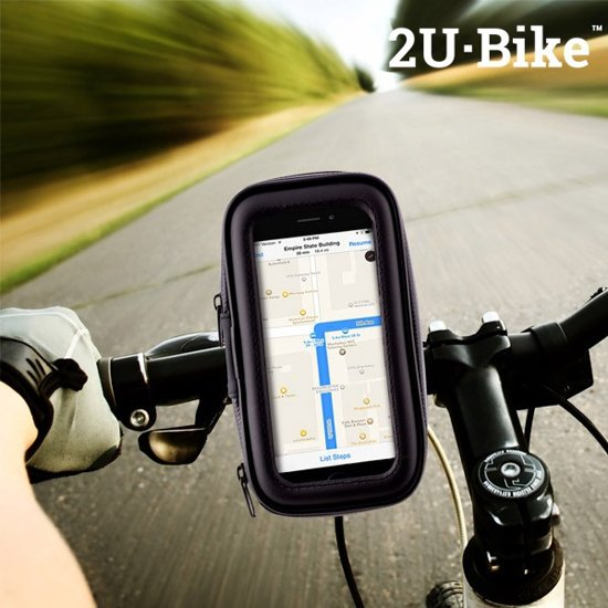 U2·Bike Case voor Mobiele Telefoon en Houder voor Fietsen