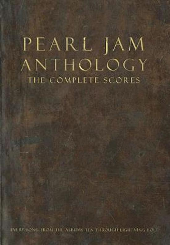 Pearl Jam Anthology - The Complete Scores (Box Set)