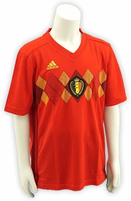 adidas Wereldbeker 2018 Rode Duivels - Voetbalshirt - Home - Kinderen- maat 128- Rood