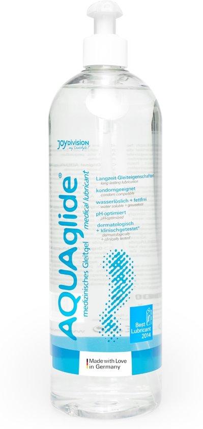 AQUAglide Waterbasis Glijmiddel - 1000 ml