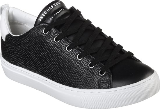 Skechers Side Street-Tegu Dames Sneakers - Zwart - Maat 38