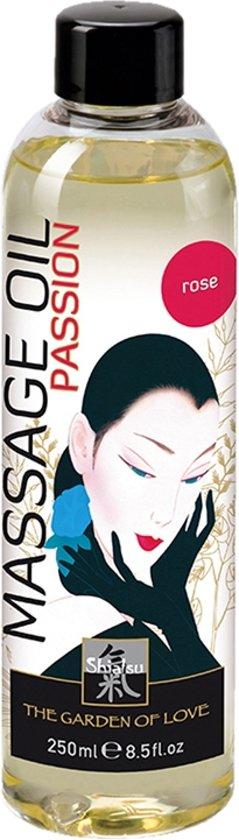 Shiatsu Massage olie - Rozen