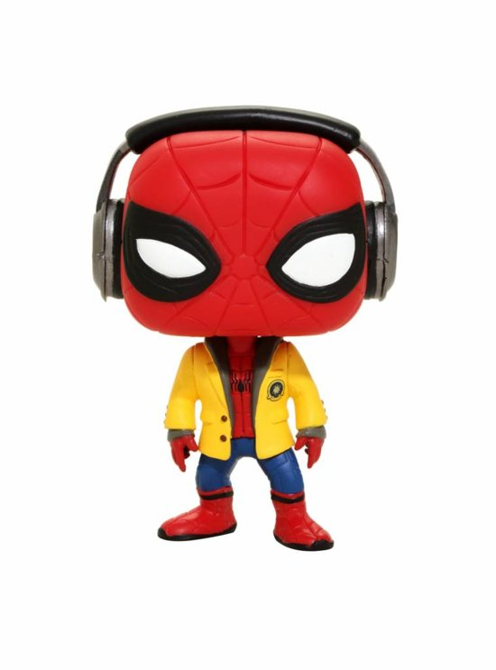 Funko Pop! Marvel: Spider-Man With Headphones - Verzamelfiguur