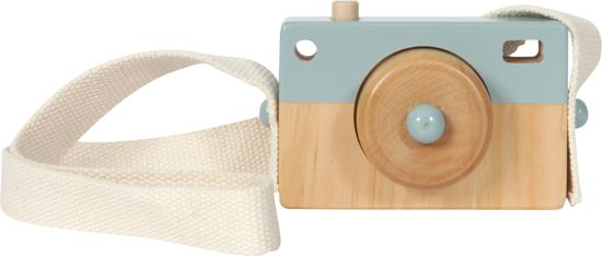 Little Dutch Camera blauw hout