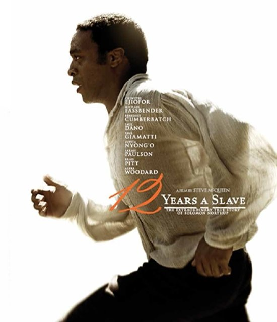 DVD cover van 12 Years A Slave (Blu-ray)