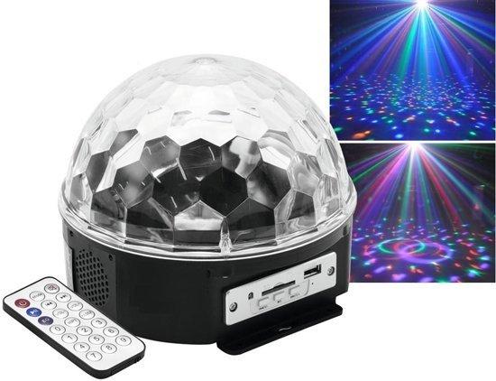 Discobal Met Licht : Bol homra discobal met mp speler led discolamp homra