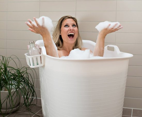 Zitbad Voor Volwassenen - Bath Bucket - Blauw - 200L