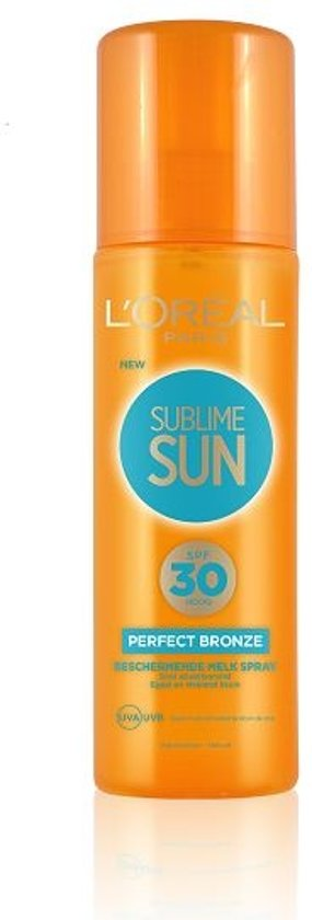 Sublime Sun PBronze Milk SpraySPF 30FRNL