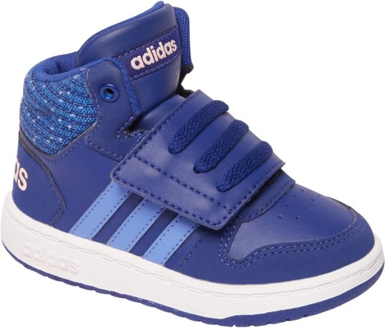 quality design 2d31b f4c2a adidas Kinderen Blauwe Hoops Mid 2.0 - Maat 22
