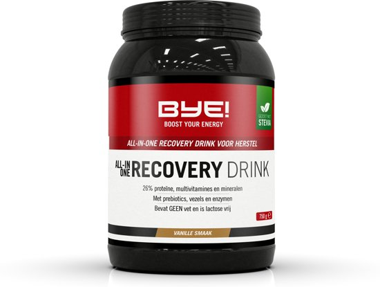 BYE All-In-One Recovery Drink - Vanille - 750 gram