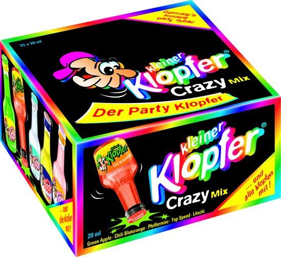 Kleiner Klopfer crazy mix - 25 x 2 cl
