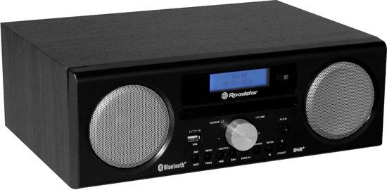 Roadstar HRA-9D+BT/BK Digitaal 30W Zwart CD radio