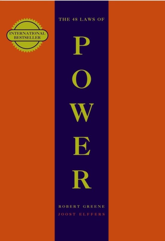 Boek cover 48 laws of power van Robert Greene (Paperback)