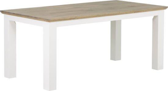 Tafel Grijs Eiken : Bol.com hsm collection eettafel provence 180x90 cm grijs