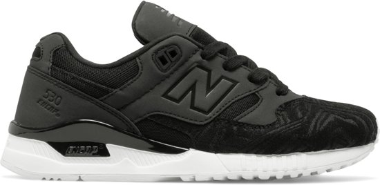 new balance dames zwart wit