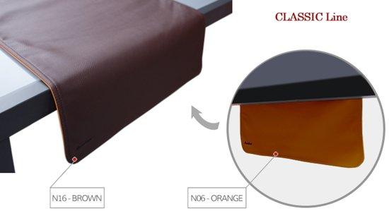 Pavelinni tafelloper Classic 45x120cm Brown/Orange