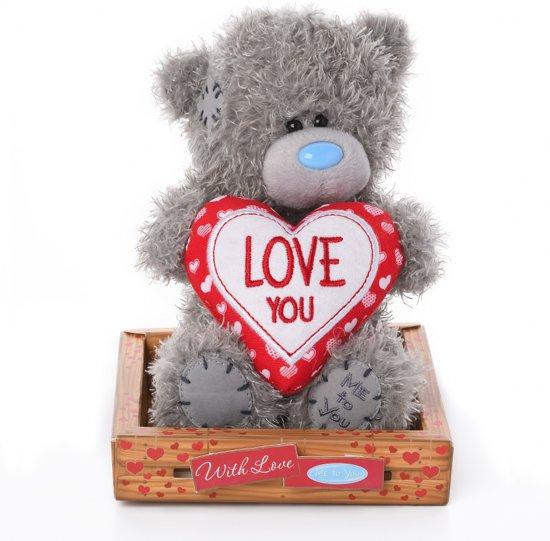 Bolcom Me To You Love You Knuffel 16 Cm Love You Heart Me To You