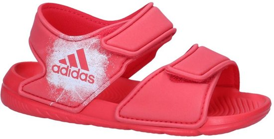 detailed look 5631a 0dbeb adidas Alta Swim Slippers Kinderen - Red