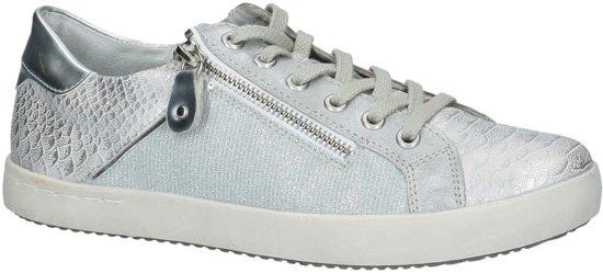 Remonte - D 5201 - Sneaker laag gekleed - Dames - Maat 37 - Zilver - 90 -Ice/Silber Klaipeda/