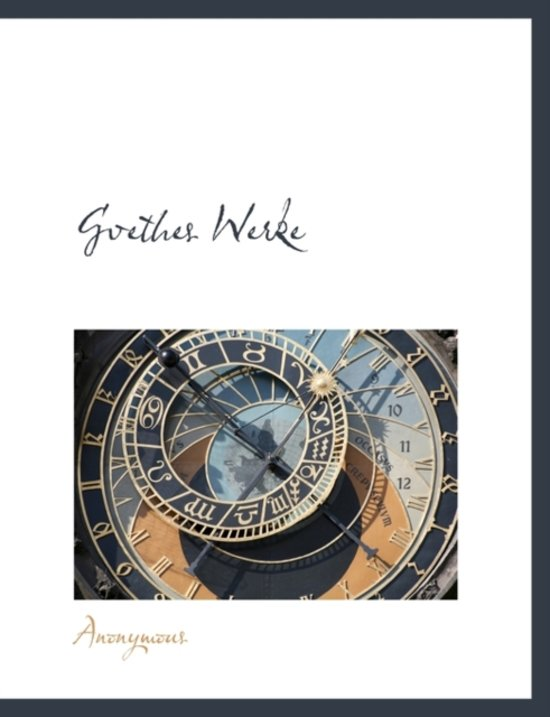Gvethes Werke