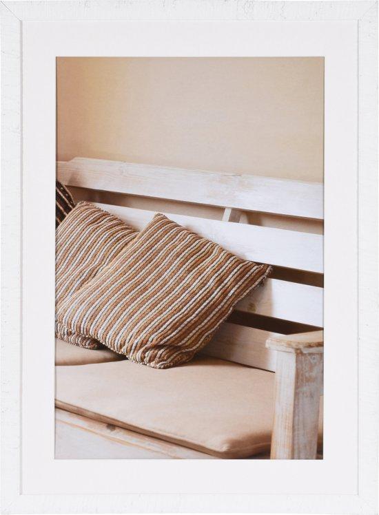 henzo driftwood fotolijst 60 x 80 cm fotoformaat 60 x 80 50 x 70 cm wit. Black Bedroom Furniture Sets. Home Design Ideas