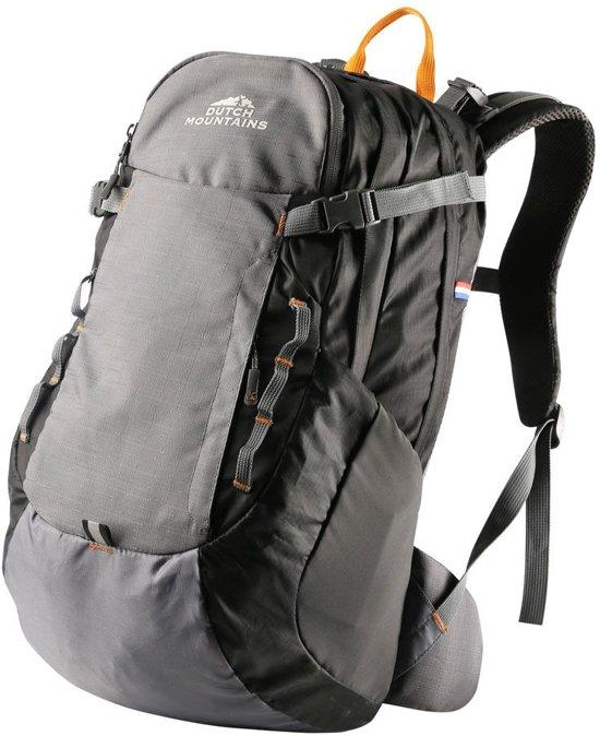 8667cc36ff2 Dutch Mountains - Backpack Vecht - Rugzak 30 Ltr - Rugventilatie + Regenhoes  - Zwart