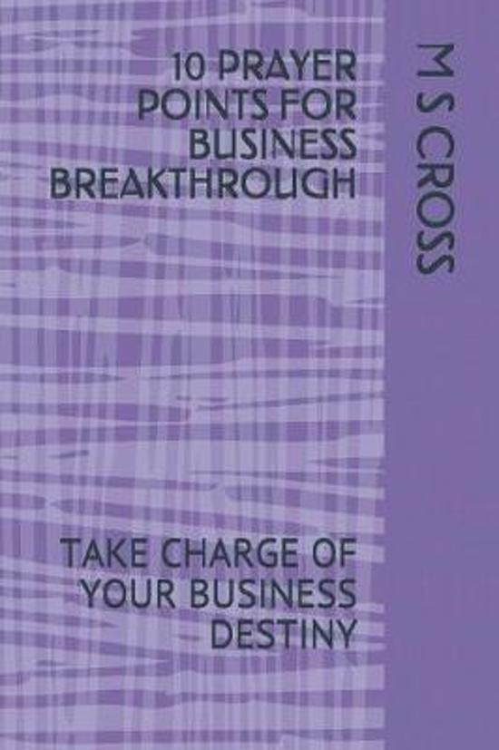 10 Prayer Points for Business Breakthrough