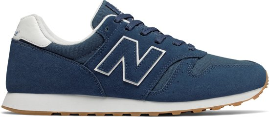 New Balance 373 Classics Traditionnels Sneakers Maat 44 Mannen donker blauwwit