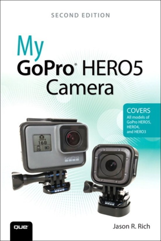 Boek cover My GoPro Hero5 Camera. van Jason R. Rich (Onbekend)