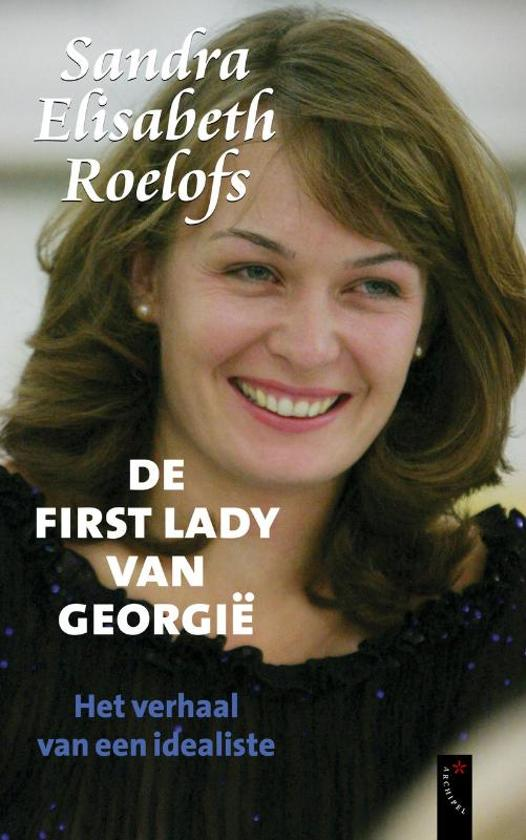 De first lady van Georgië cover