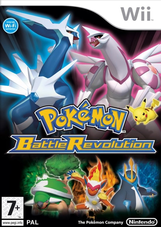 Wii Pokemon Battle Revolution Nintendo Wii