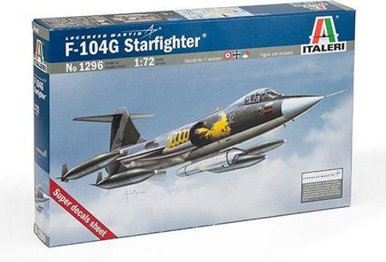Italeri - F104 G Starfighter 1:72 (Ita1296s)