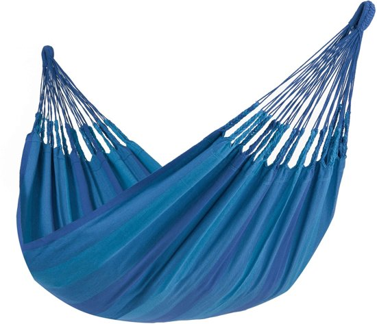 Tropilex Hammock Set Single 'Easy & Dream' blue