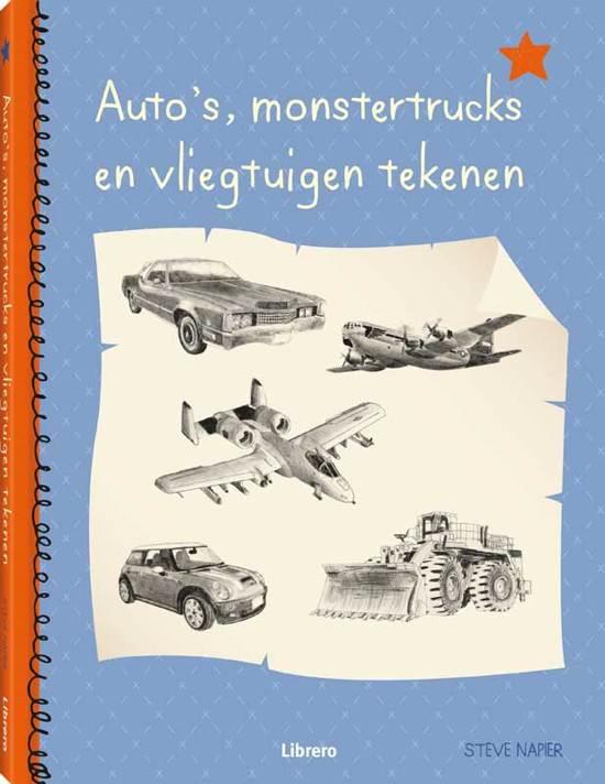 Bol Com Auto S Monstertrucks En Vliegtuigen Tekenen Steve Napier