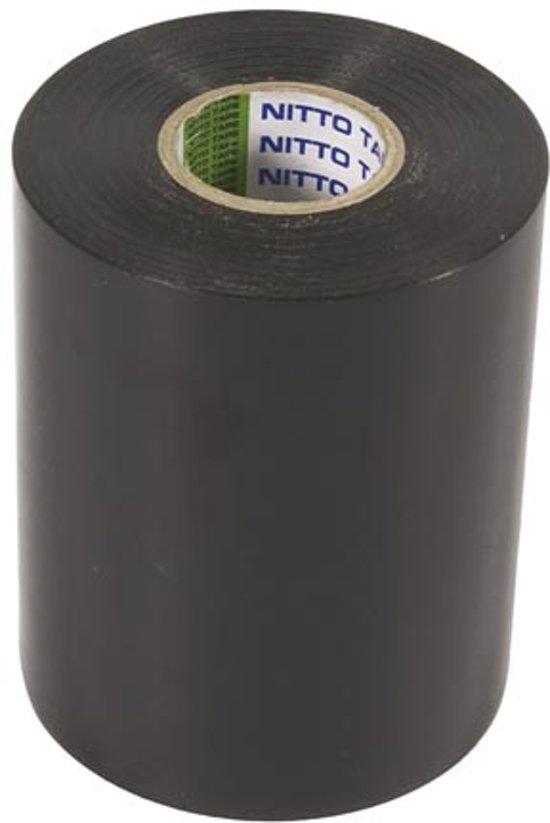 Nitto - Isolatietape - Zwart - 100 Mm X 20 M