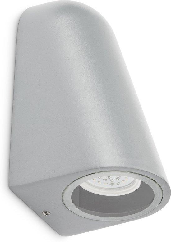 PROLIGHT buitenlamp - LED GU10  4W - incl lamp - IP44 - grijs