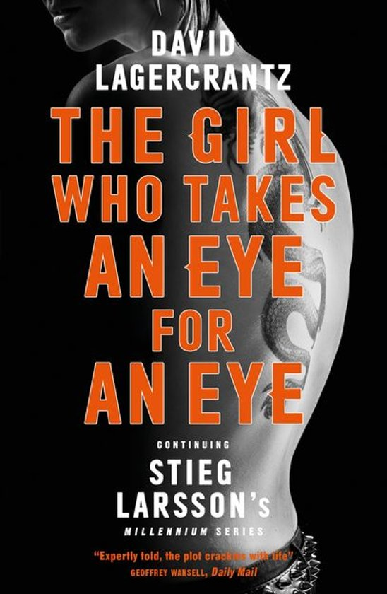 Boek cover The Girl Who Takes an Eye for an Eye van David Lagercrantz (Onbekend)