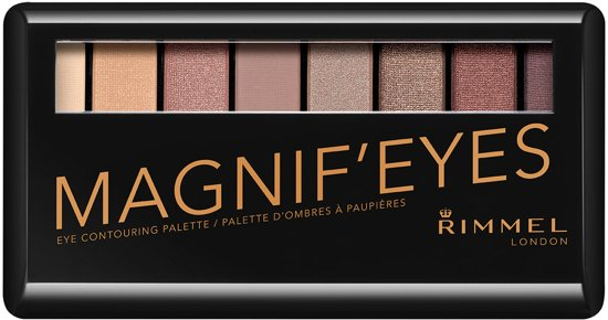 Rimmel London Magnif'Eyes - London Nudes Calling - Oogschaduwpalette