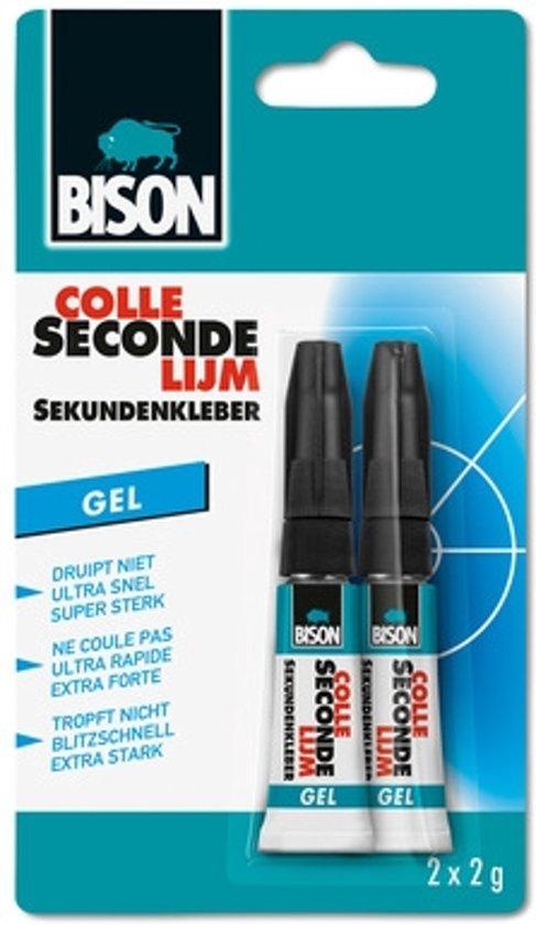 BISON Secondelijm - Alleslijm - Seconden Lijm (2 Stuks) 2x 2 gram
