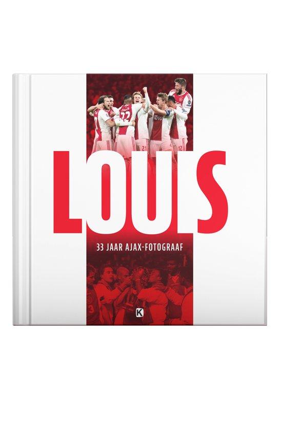 Boek cover LOUIS - een en al Ajax van Jaap Visser (Hardcover)