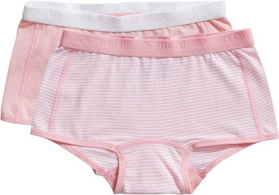 Ten Cate - Meisjes 2-Pack Shorts Roze - 98/104